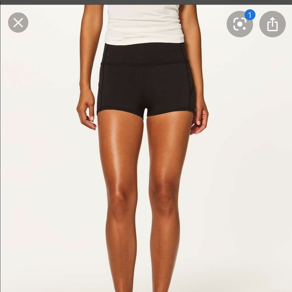 In movement shorts
